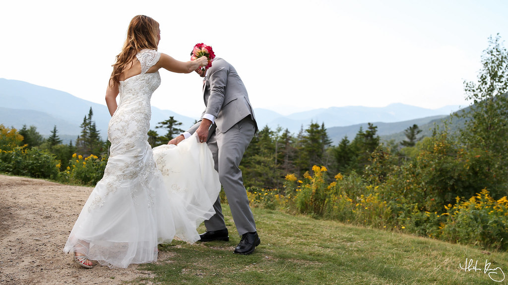 Wedding in Lincoln, New Hampshire