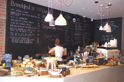 The search for good coffee in Bristol: Spicer + Cole (Clifton Village, Bristol)