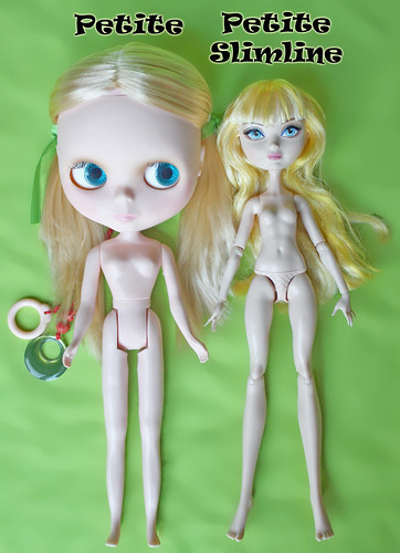 Petite vs Petite Slimine