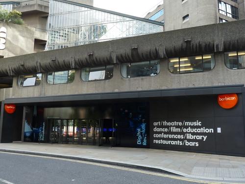 Exterior of Barbican Theatre