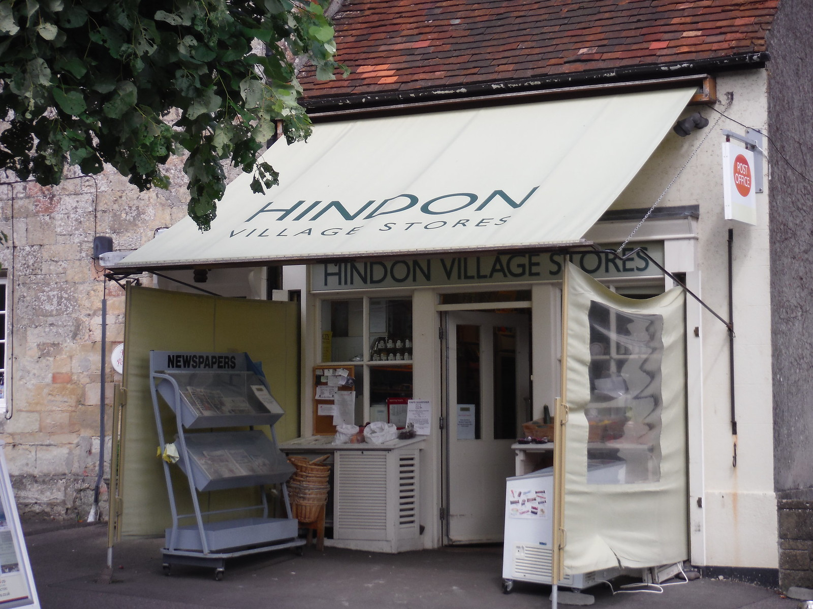 Hindon Village Stores SWC Walk 248 Tisbury Circular via Hindon