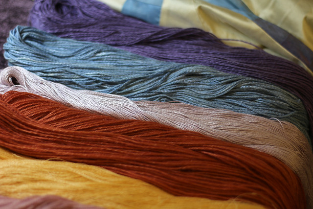 The Association of Guilds of Weavers, Spinners and Dyers Summer School 2015