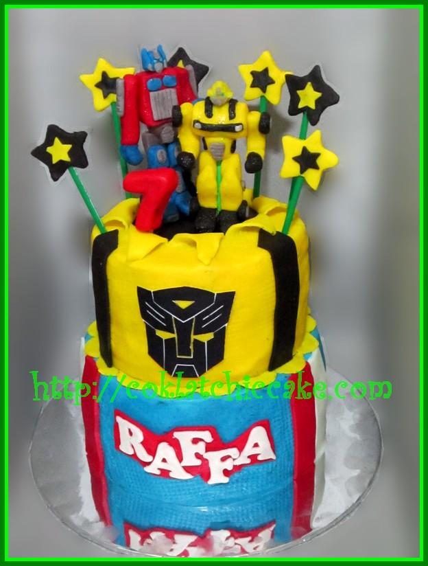 Cake Transformer Raffa Coklatchic Cake