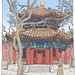 China, Beijing, lama temple (east tablet pavilion)