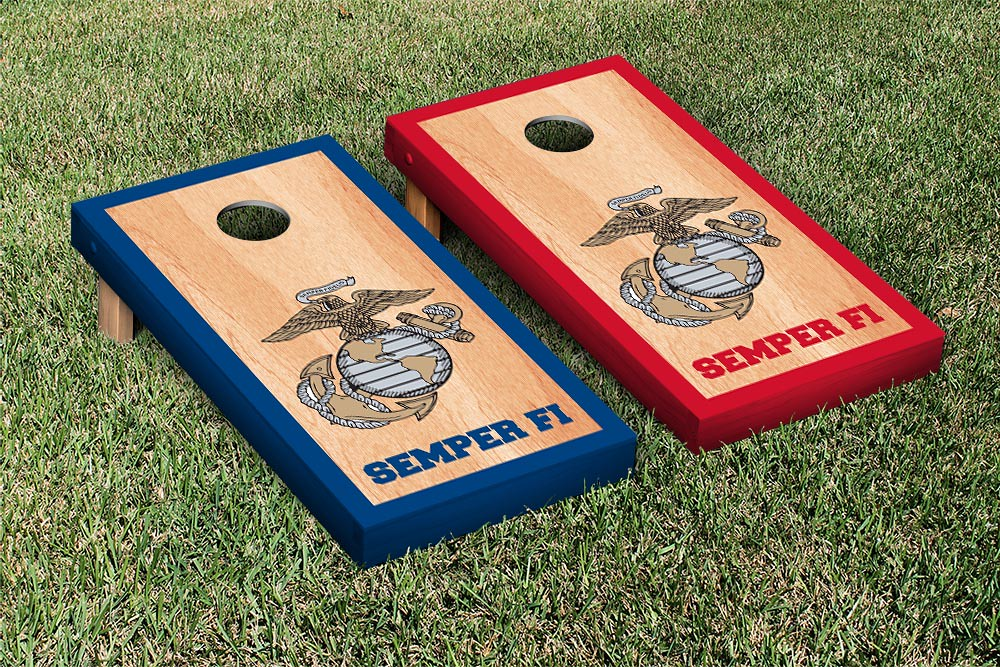 US Marines USMC Red & Blue Hardcourt