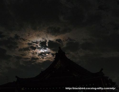 Cloudy Moon #01
