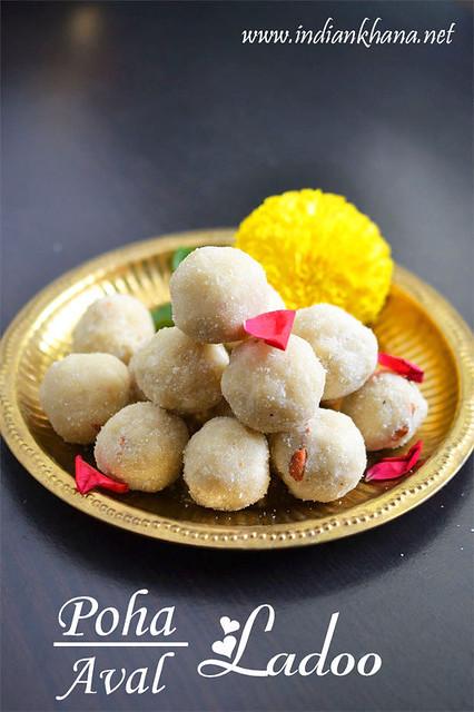 poha-ladoo-Diwali-sweet-recipe