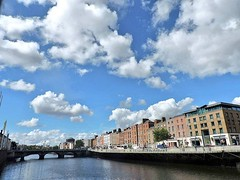 There really is nothing at all like a sunby Dublin day :heart_eyes:  #dublin #EnjoyYourCity #clouds #sky #architecture