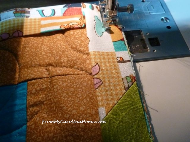 Winnie the Pooh Charity quilt