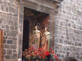 Conversano- SS Medici e Santa Rita