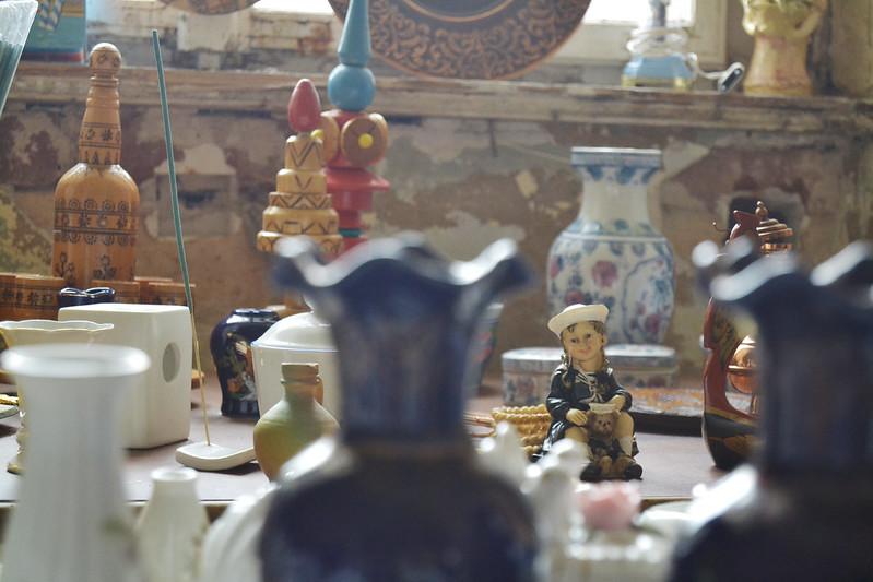 Flohmarkt für das Renaissanceschloss