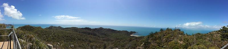 Aussicht vom Gipfel des Forts Walk