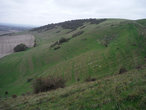 The Long Man, Wilmington (sideview)