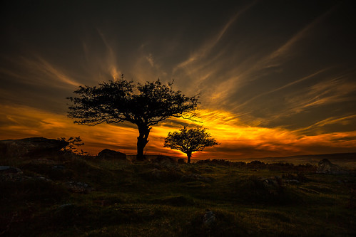 sunset two sky colour canon explore moor dartmoor hawthorn