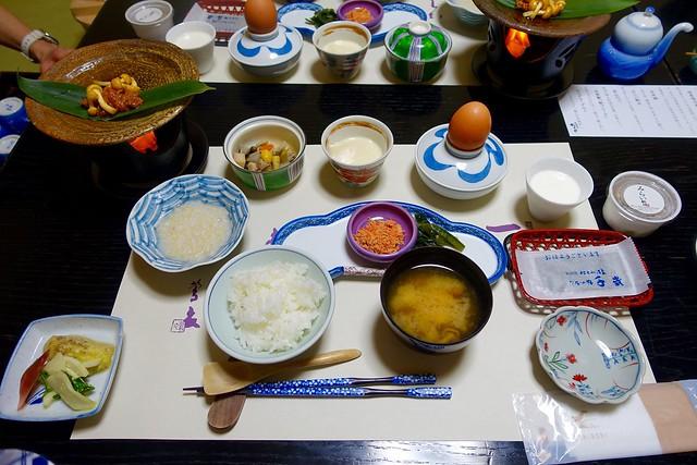 Photo:breakfast @『ひなの宿 ちとせ』(新潟県十日町市松之山) By TOMODA