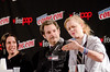 Paget Brewster, Paul F. Tompkins, and Janet Varney - Thrilling Adventure Hour - New York Comic Con 2015 - 10.10.15 by adcristal