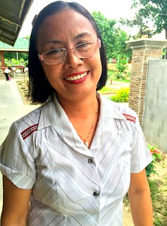 Local elementary school teacher Ma. Theresa S. Carsola