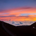 Mauna Kea Sunset Pano by geekyrocketguy