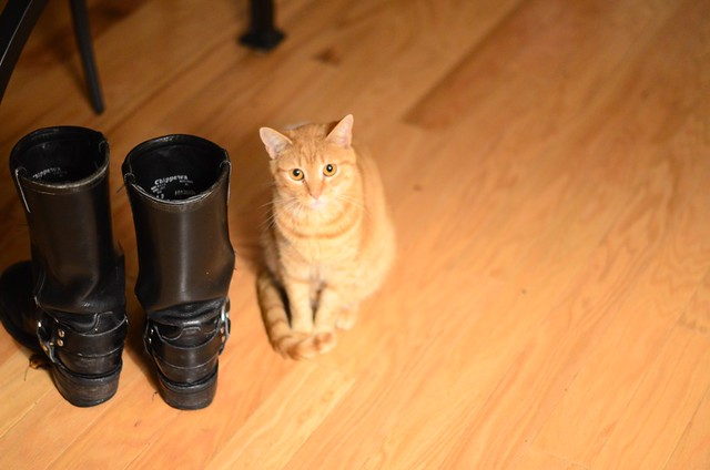 these boots yours? mine now.