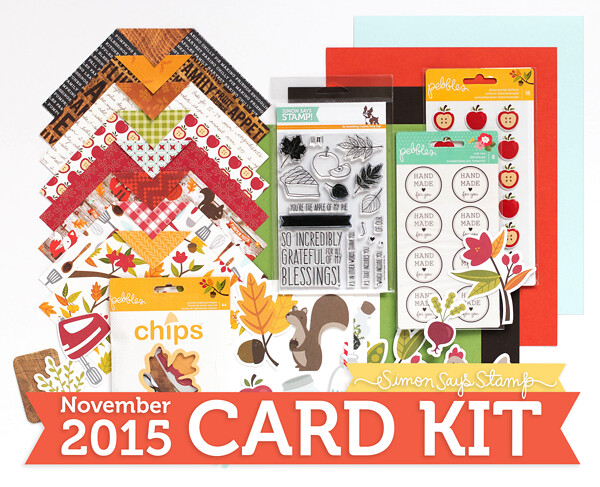 November Card Kit from Simon Says Stamp