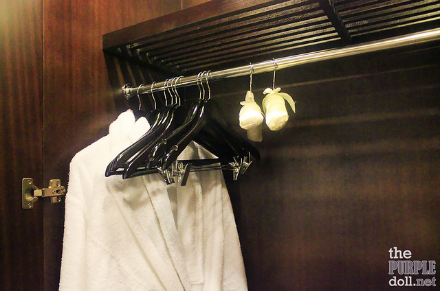 Holiday Inn & Suites Makati Deluxe Bathrobes and Hangers