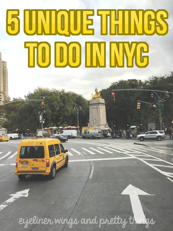 NY TRAVEL GUIDE: 5 Unique Things To Do In NYC // eyeliner wings & pretty things
