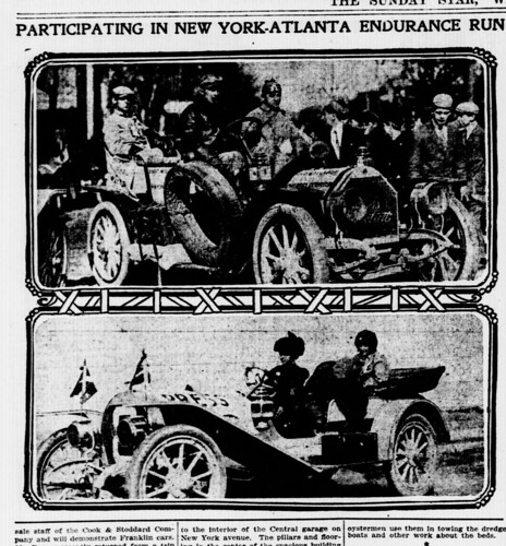 1909 New York-Atlanta Run