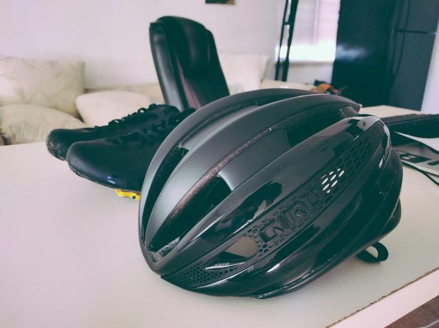 Giro Synthe helmet.
