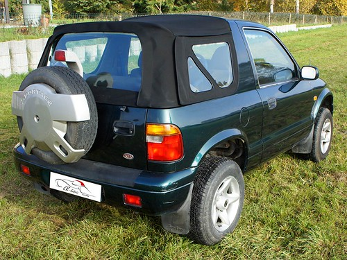 ck cabrio manufaktur f r cabrioverdecke kia sportage verdeck 1994 2002. Black Bedroom Furniture Sets. Home Design Ideas