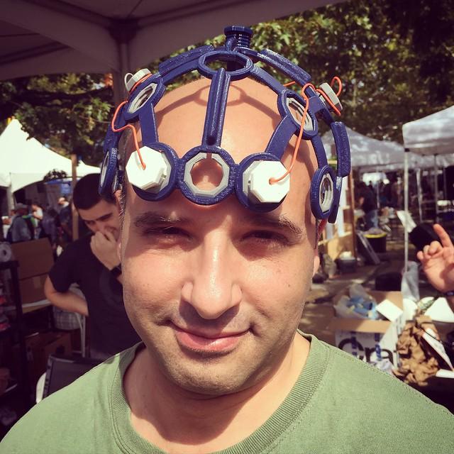 Is it Brainiac? No, it's just Gary. #makerfaire