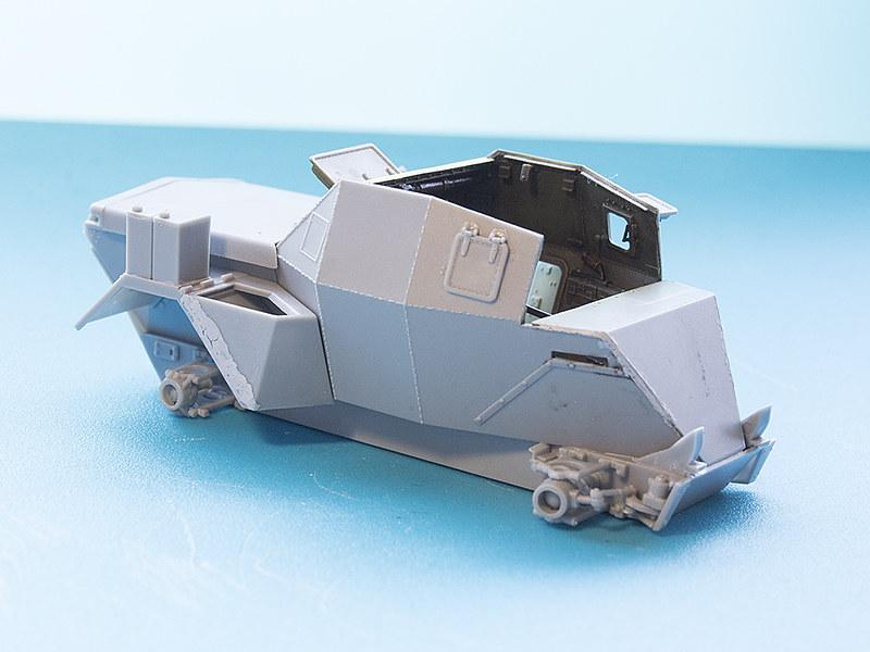 Projet Normandy : Dingo MK.III // Miniart // 1/35 22626970994_996daf3128_c