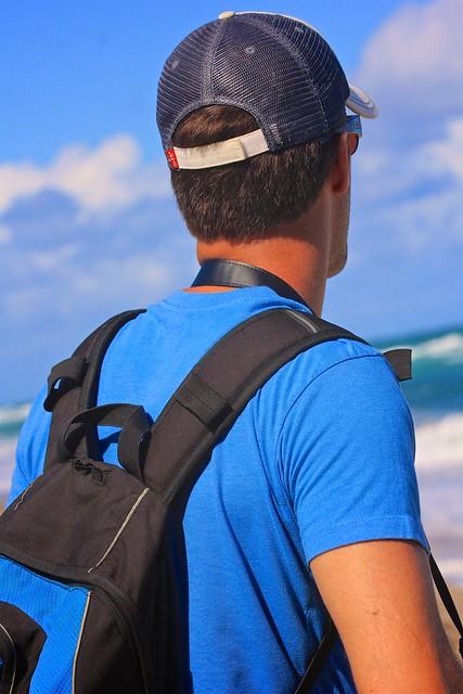 Beach Cameraman