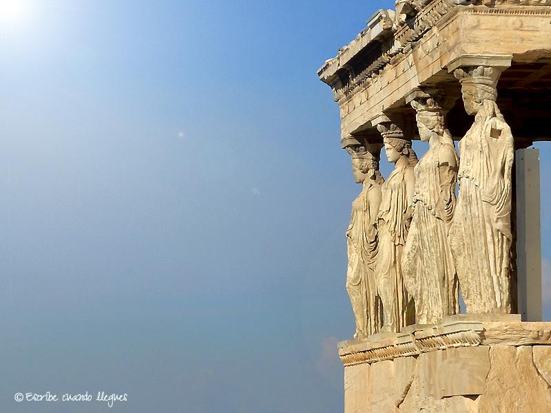 El Erecteion, el templo más sagrado de la Acrópolis