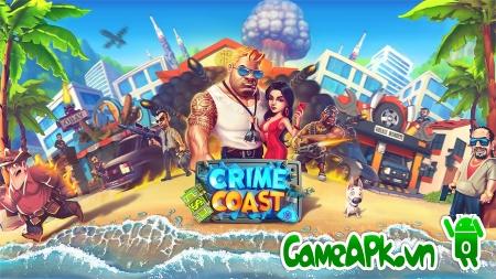 Crime Coast: Mafia Wars v43 hack full cho Android