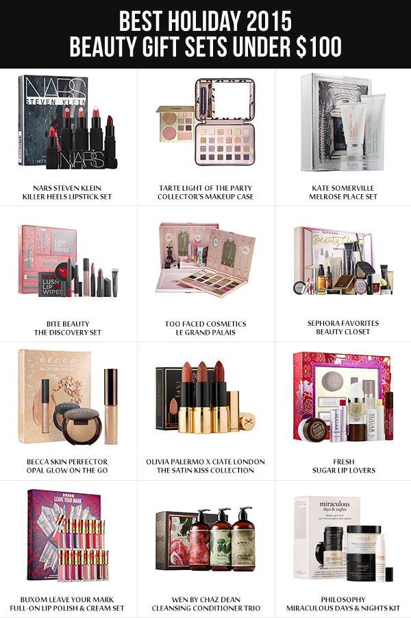 Best Holiday 2015 Beauty Gift Sets Under $100