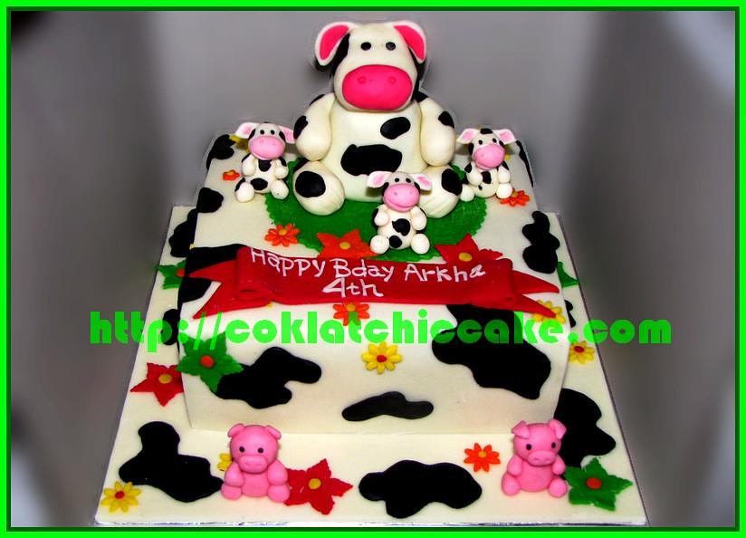 Cake Sapi dan babi