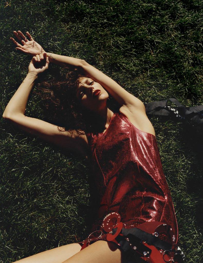 Аня Рубик — Фотосессия для «Vogue» FR 2015 – 3