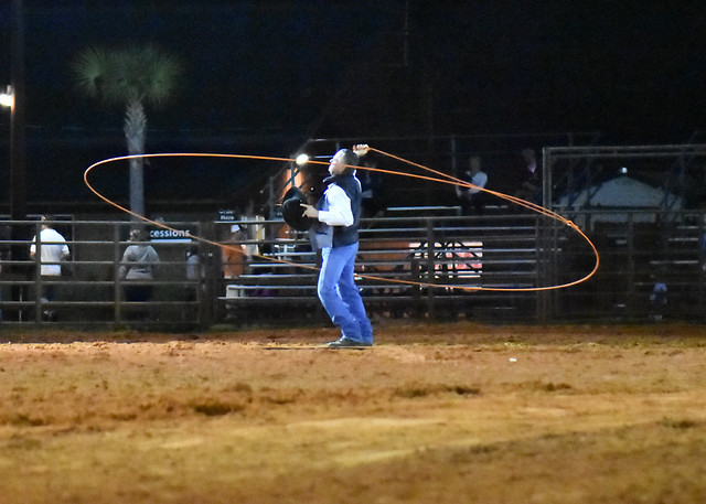 Texas Jack with 50+ feet with 50+ feet of rope out