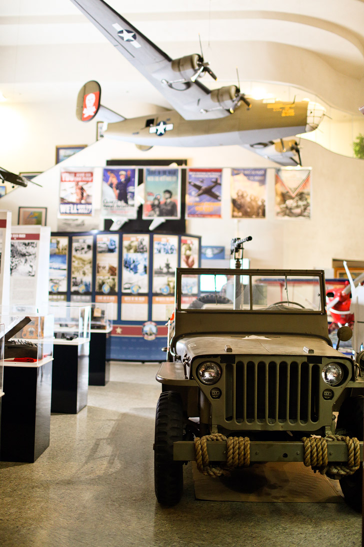 World War II Exhibit // San Diego Air and Space Museum // Museums in Balboa Park.