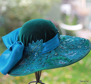elaborate edwardian hat