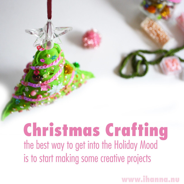 Crafting a Christmas Tree from Felt