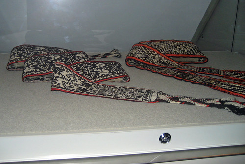Viva Mexico Royal Ontario Museum exhibition backstrap woven belts