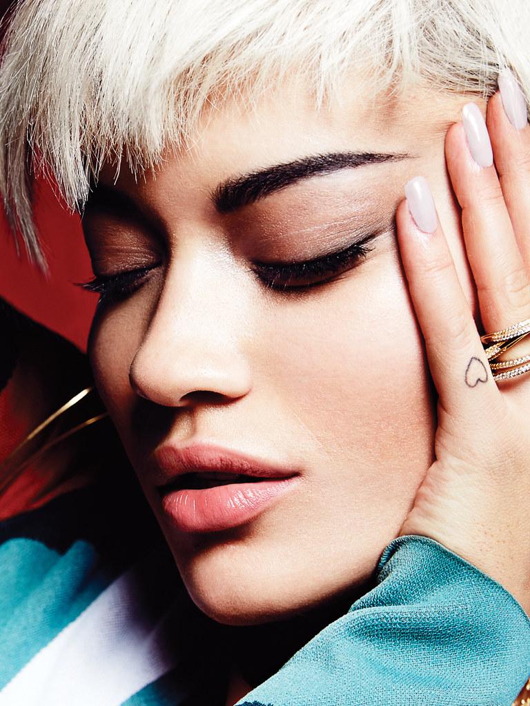 Рита Ора — Фотосессия для «Elle» CA 2015 – 6
