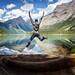Enjoying the beauty of Kinney lake by Tomáš Janovič