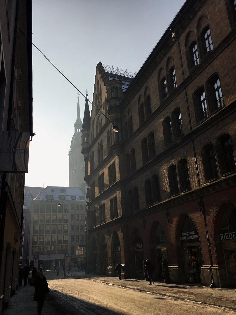 Munich Winter Light