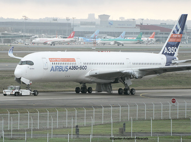 Airbus Industrie. Airbus A350. Stycker