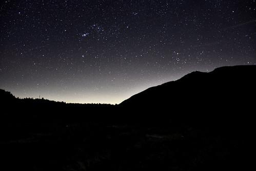 能高越嶺步道-繁星-天池