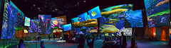 Inside Panoramic of the Art of Animation Building