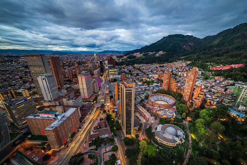 Panorámica de Bogotá Nocturna