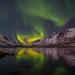 arctic night by John A.Hemmingsen